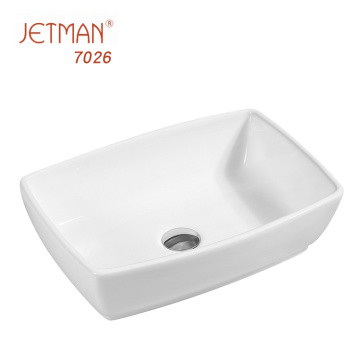Promotion bathroom accessories luxury ceramic art basin