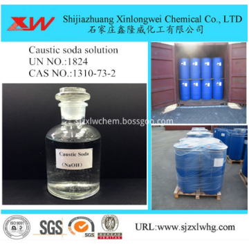 2018 Hot Selling Caustic Soda Liquid 48% 50%