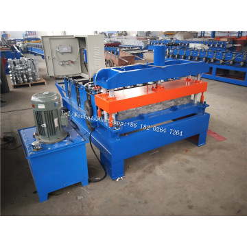 Crimping Curved Roof Panel Roll Forming Machine