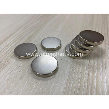 Thin Neodymium Disc Magnets