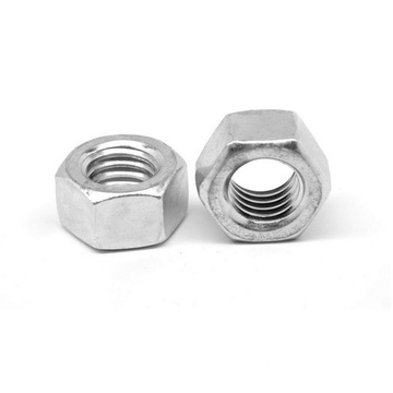 M12 Zinc Plated Thread DIN 934 Hex Nut
