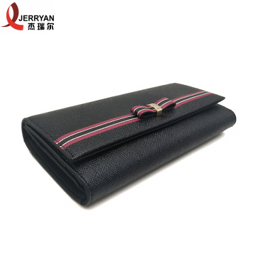 Ladies Clutch Wallet with Money Clip Inside