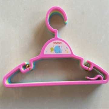 Plastic Kids Accessory Clothes Rack Coat Hanger Set