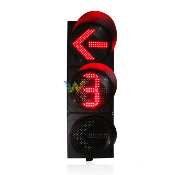 400MM direction countdown timer traffic lights