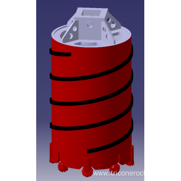 GREAT Drill Core Barrel with Roller Bits