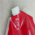Food grade foldable 5L vertical aseptic spout bag