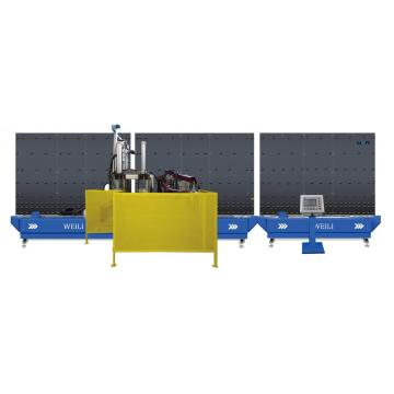 Auto Sealing Robot for Double Train Glass