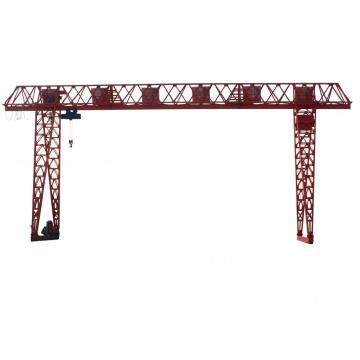 Truss type single beam gantry crane 5 ton