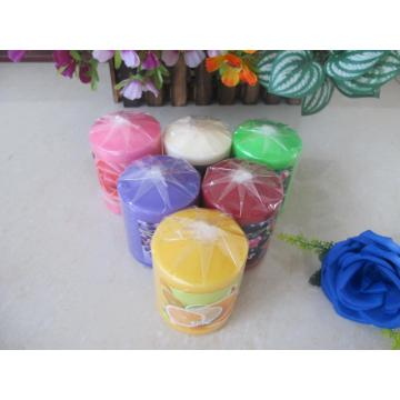 Scented Colored Smooth Surface Pillar Candle