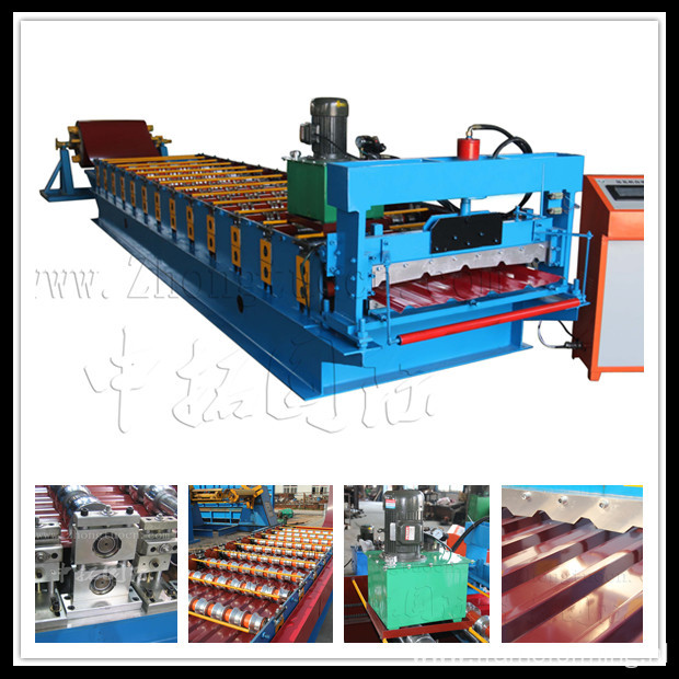cold roll forming line,aluminum roof machine