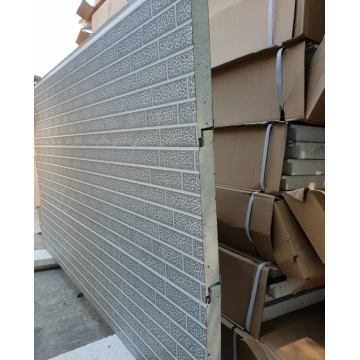 Metal insulation brick wall siding panels