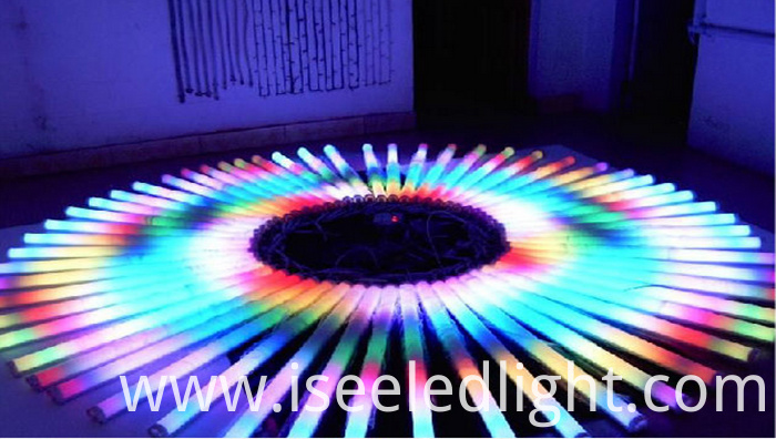rgb led linear tube