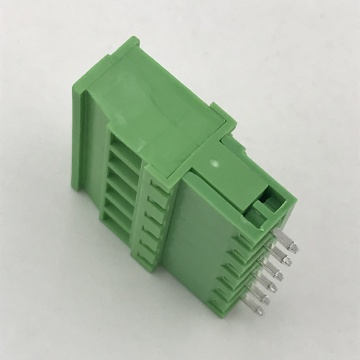 male and female Vertical PCB pluggable terminal block