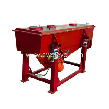 High efficiency ZSQ silica sand linear vibrating screen