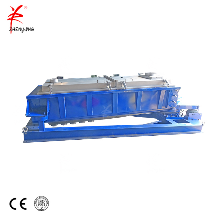 Gyratory vibrating shaking sifter machine for PVC powders