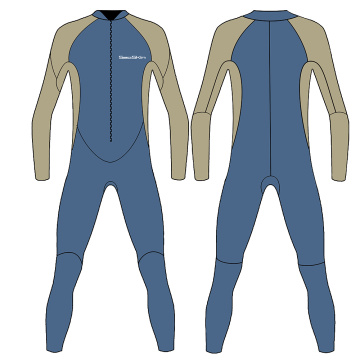 Seaskin Childrens Unisex Full Body Scuba Diving Wetsuit