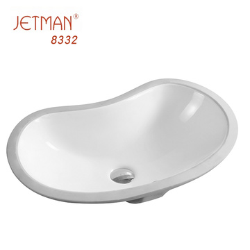 Ceramic commercial porcelain sink bathroom sink wash basin