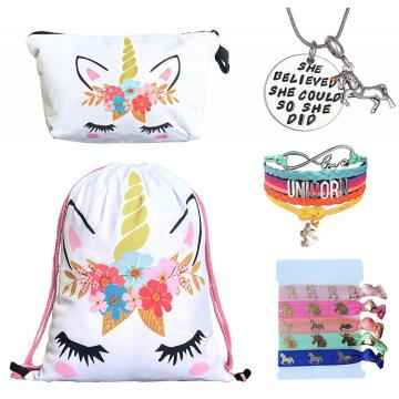 UNICORN DRAWSTRING BAG -0