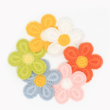 3D Embroidery flowers applique DIY Kid cloth patches