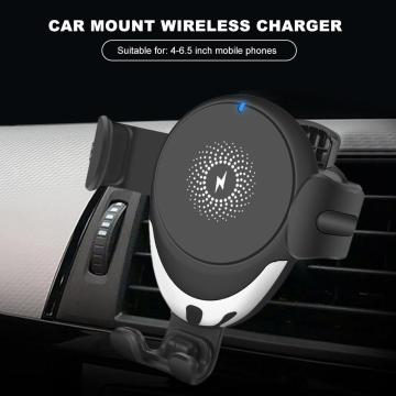 15W 10W Auto Gravity Car Mount Wireless Charger Qi Fast Charging Phone Holder Cell Stand Support For IPhone 11Pro XS XR X 8