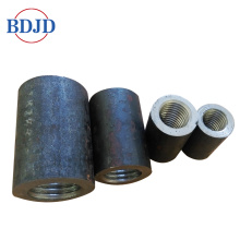 Black Color Cold forged rebar coupler