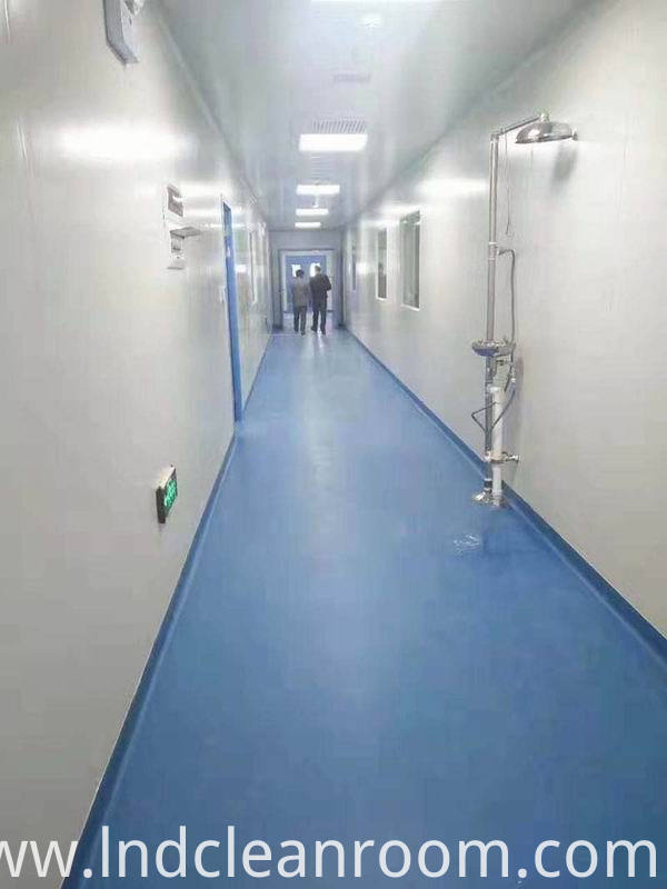 GMP certified clean room used in hospitals