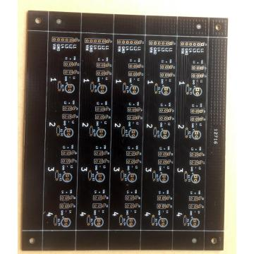 2 kahele 1.6mm 1OZ ʻ blackleʻele ʻ ENlelo ENIG PCB