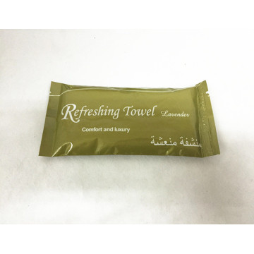 Single Sachet Refreshing Wet Cotton Towel