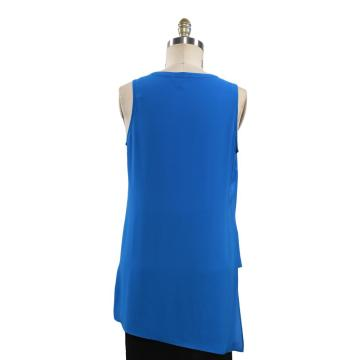 Women Casual Vest Ladies V Neck Tops