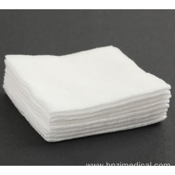 White Medical Surgical Dressing Cotton Sterile Gauze