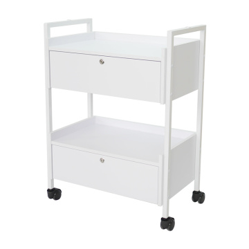 2 Layer Drawers Utility Trolley