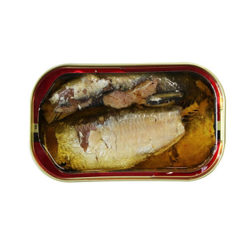 Canned Sardine Fish In Oil Club 125g