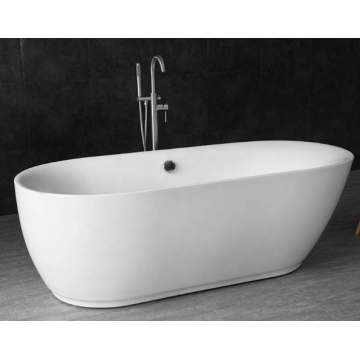 Bathroom Freestanding Soaking Acrylic Bathtub