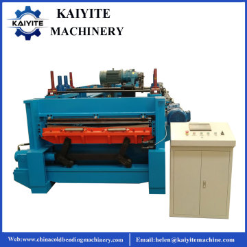 Metal Steel Flattening And Cutting Machine
