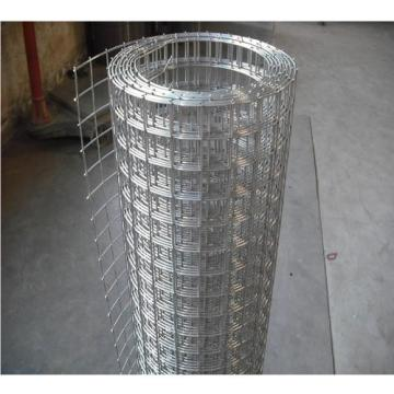 Square Woven Iron Wire Mesh Galvanized Steel