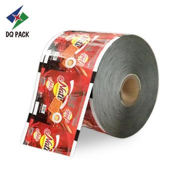 Crack food grade film aluminum foil packed
