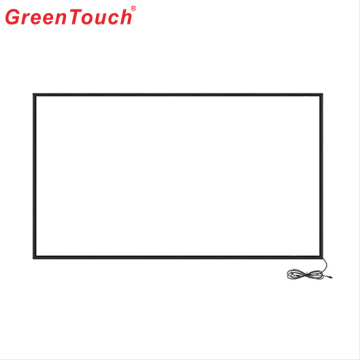 Big Size Mall Exhibition Infrared Touch Screen 84""