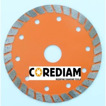 Stone Turbo Blade With Wide Segment