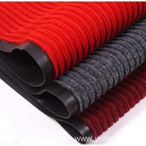 High quality nonwoven needle punched ribbed carpet