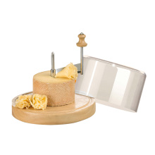 stainless steel wood cheese cutting board
