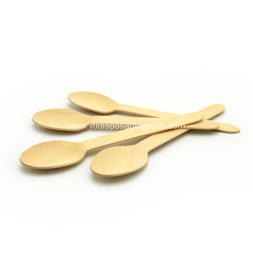 Discount Birchwood Disposable Hot-Stamping Logo Cutlery