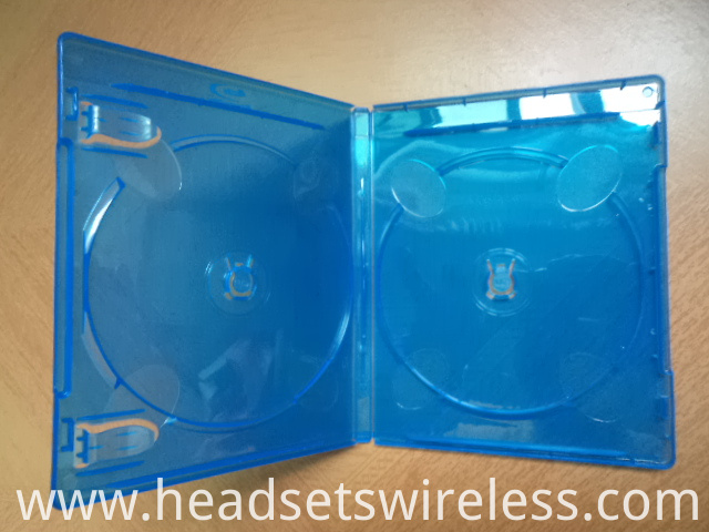 11mm Double Blue Dvd Case1