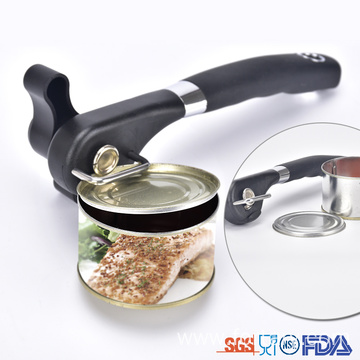 New Soft TPR Handle Safe Can Opener