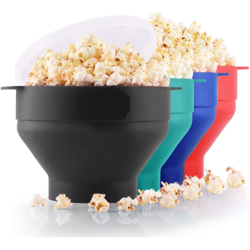 Homemade DIY healthly microwave bowls silicone popcorn bowls