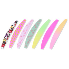 Printing Flower Design Nail Art Tools Nail File