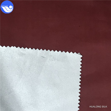 Polyester Printing silver white Taffeta For Luggage Lining