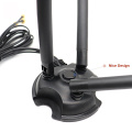 New 2.4G 5G 5.8G dual band indoor wifi communication antenna for router with 3*3 cable Magnetic rubber antenna