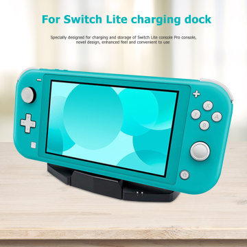 NEW USB Type-C Charging Dock Gamepad Console Power Station Adapter for N-Switch/Lite/Pro Controller