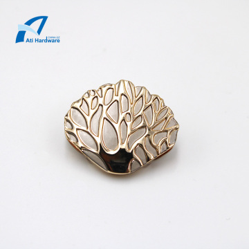 Hot Selling Shell Shape Decorative Hardware Bag Accessories