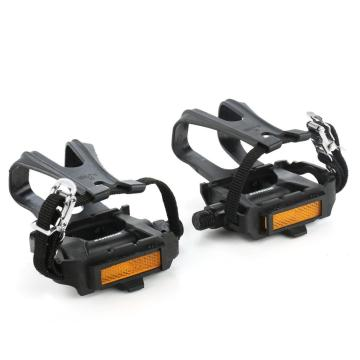 ZK-288 Bike Resin Pedal with Toe Clip / Strap